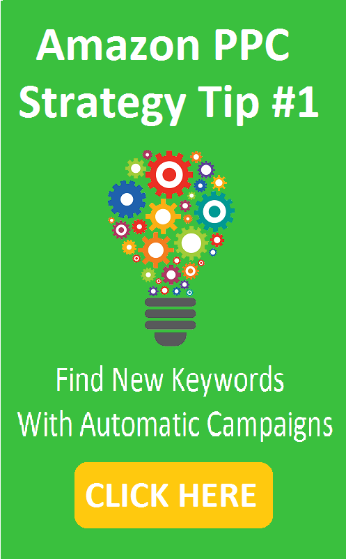 Amazon PPC Strategy Tip 1