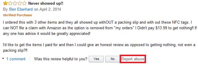 negative amazon reviews