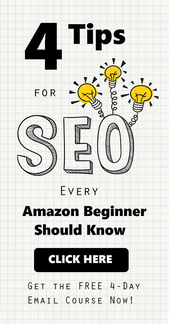 Amazon SEO Course for Beginners - 4 Lessons Delivered to Your Inbox