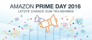 Amazon Prime Day – Letzte Chance zum Teilnehmen für Amazon Marketplace Händler