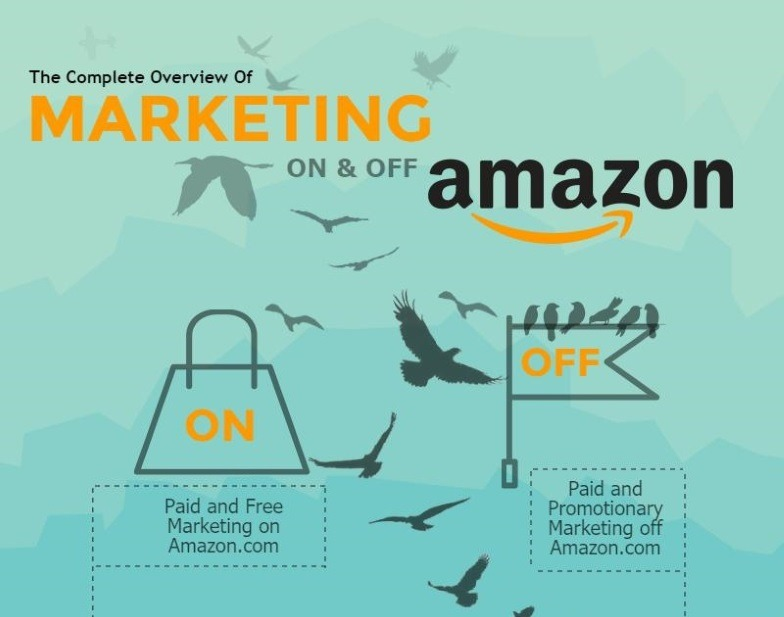 Amazon Marketing Overview Infographic