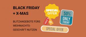 Amazon Black Friday + X-Mas Deals – Blitzangebote fürs Weihnachtsgeschäft nutzen
