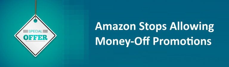 Amazon Changes Money Off Promotions