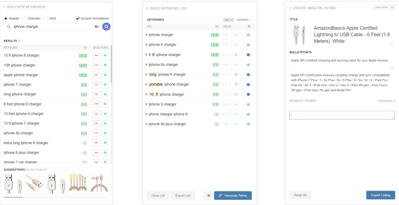 amazon vendors seo keyword research
