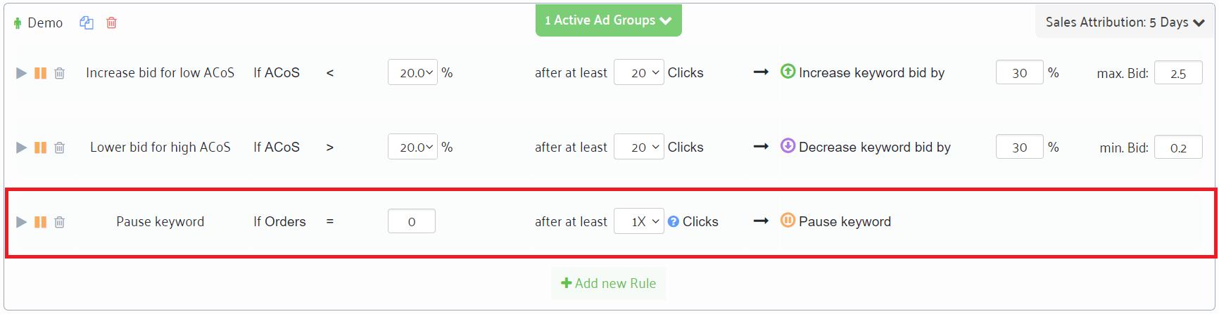 keyword bid automation