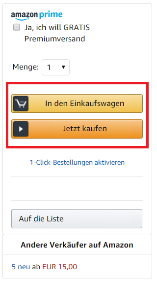 Amazon Buy Box: Einsteiger Guide für Amazon Seller | Sellics
