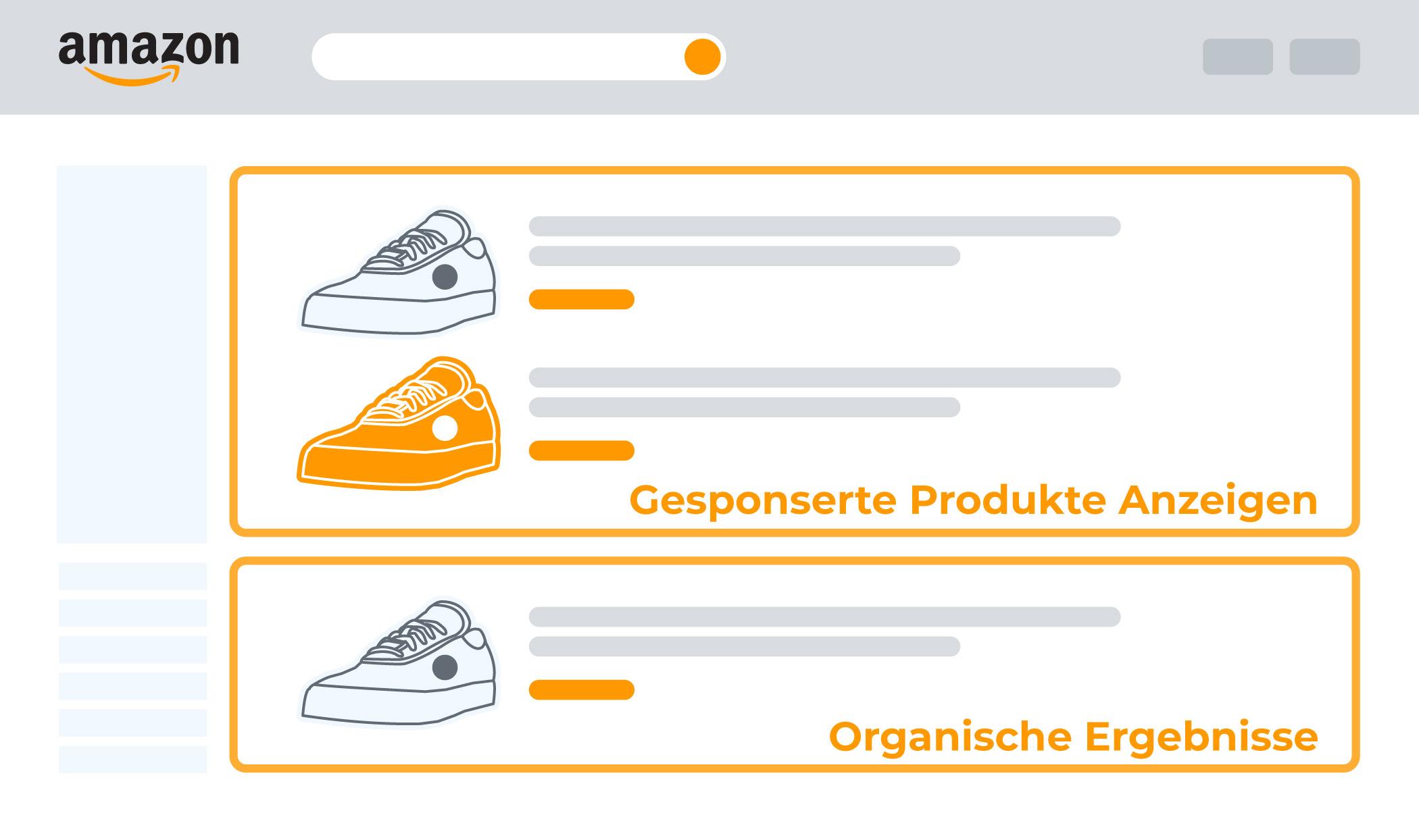 amazon gesponserte produkte anzeigen im suchergebnis - Amazon Bewerbung