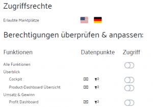 Release – Sellics Seller Edition: Benutzerverwaltung mit Rechte-Management
