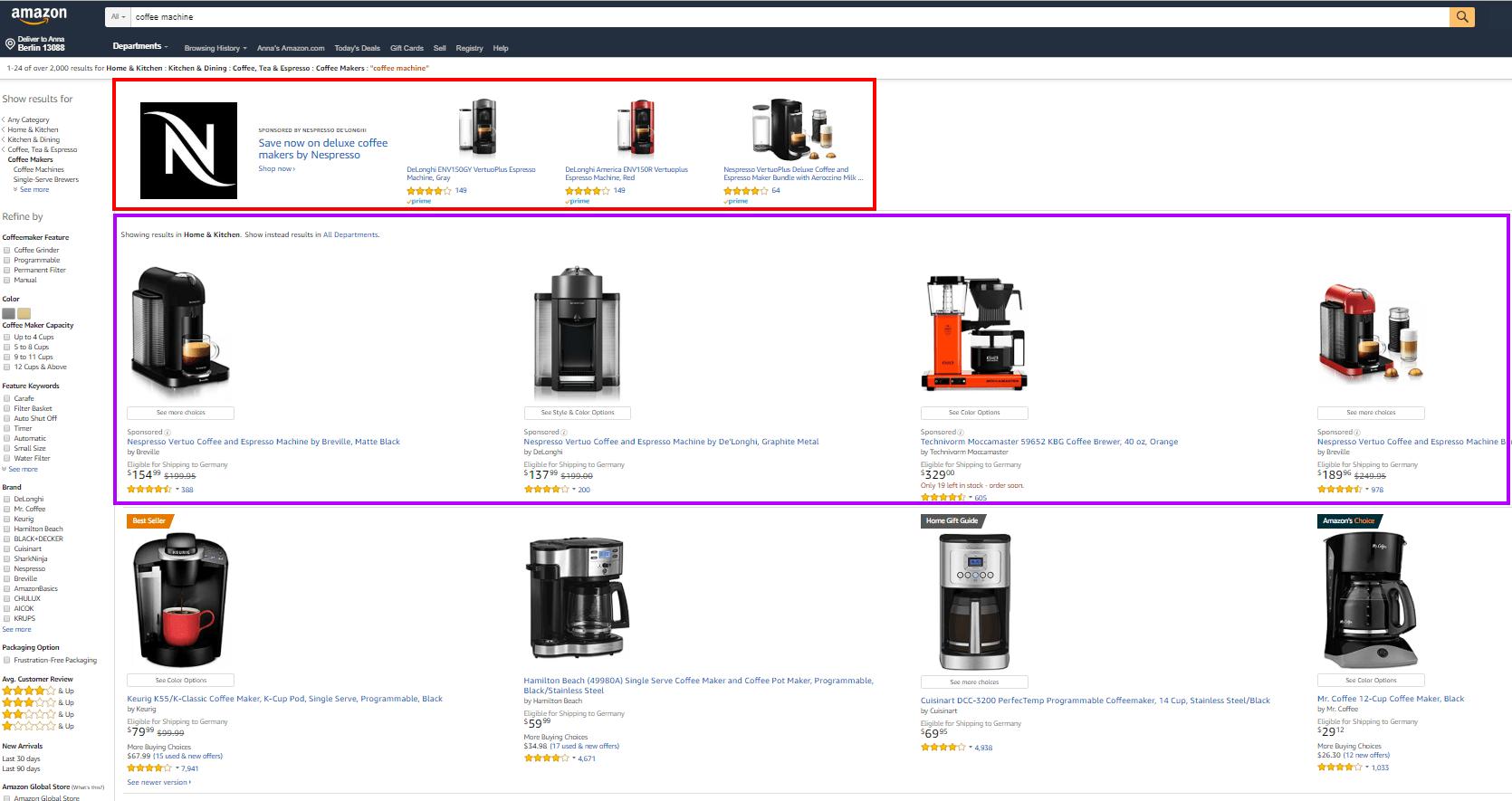 amazon sponsored brands example