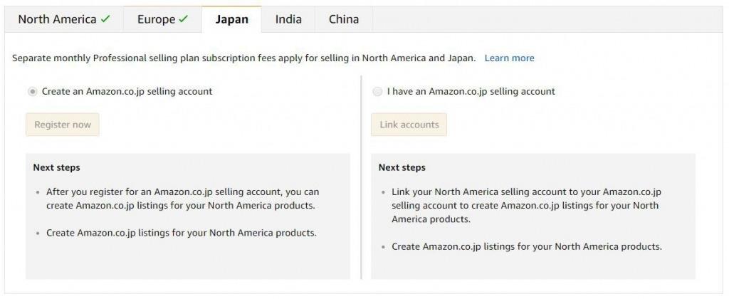 selling international amazon linking accounts