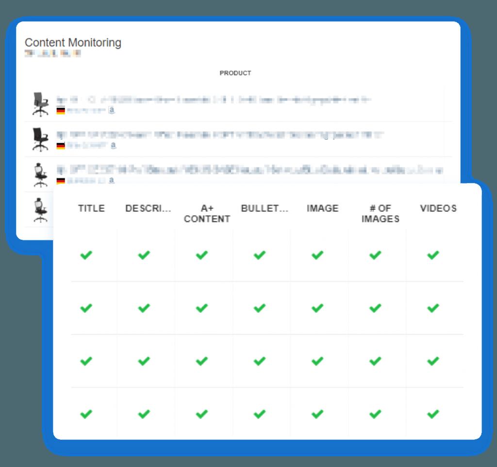 amazon sellics vendor edition seo content monitoring