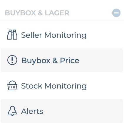 Historie Verlauf Eurer Preise verstehen und rechtzeitig  Vendor manager kontaktieren