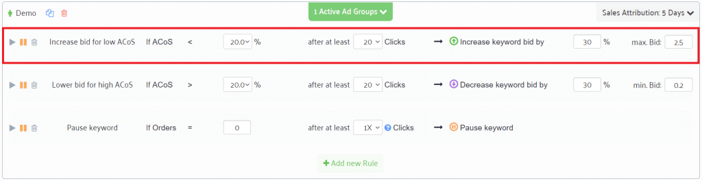 bid automation software for Amazon PPC