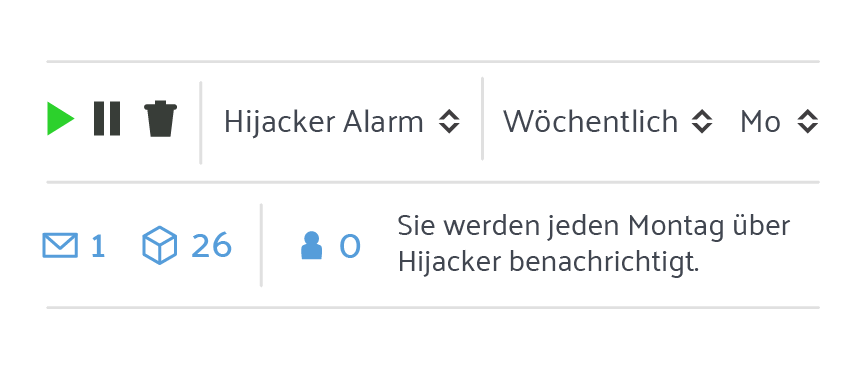 Hijacker Alarm
