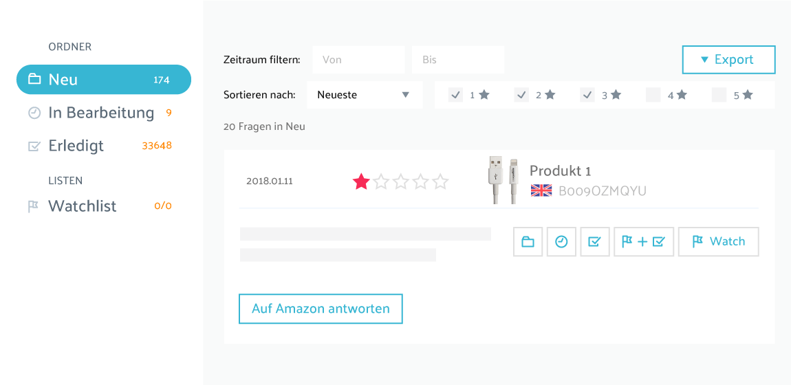 watchlist-review adjustments-vendor